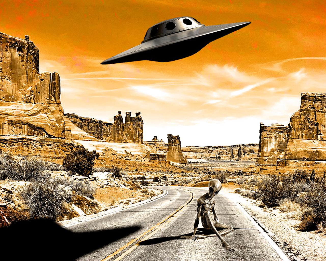 Alien Photoshop Davide Masia
