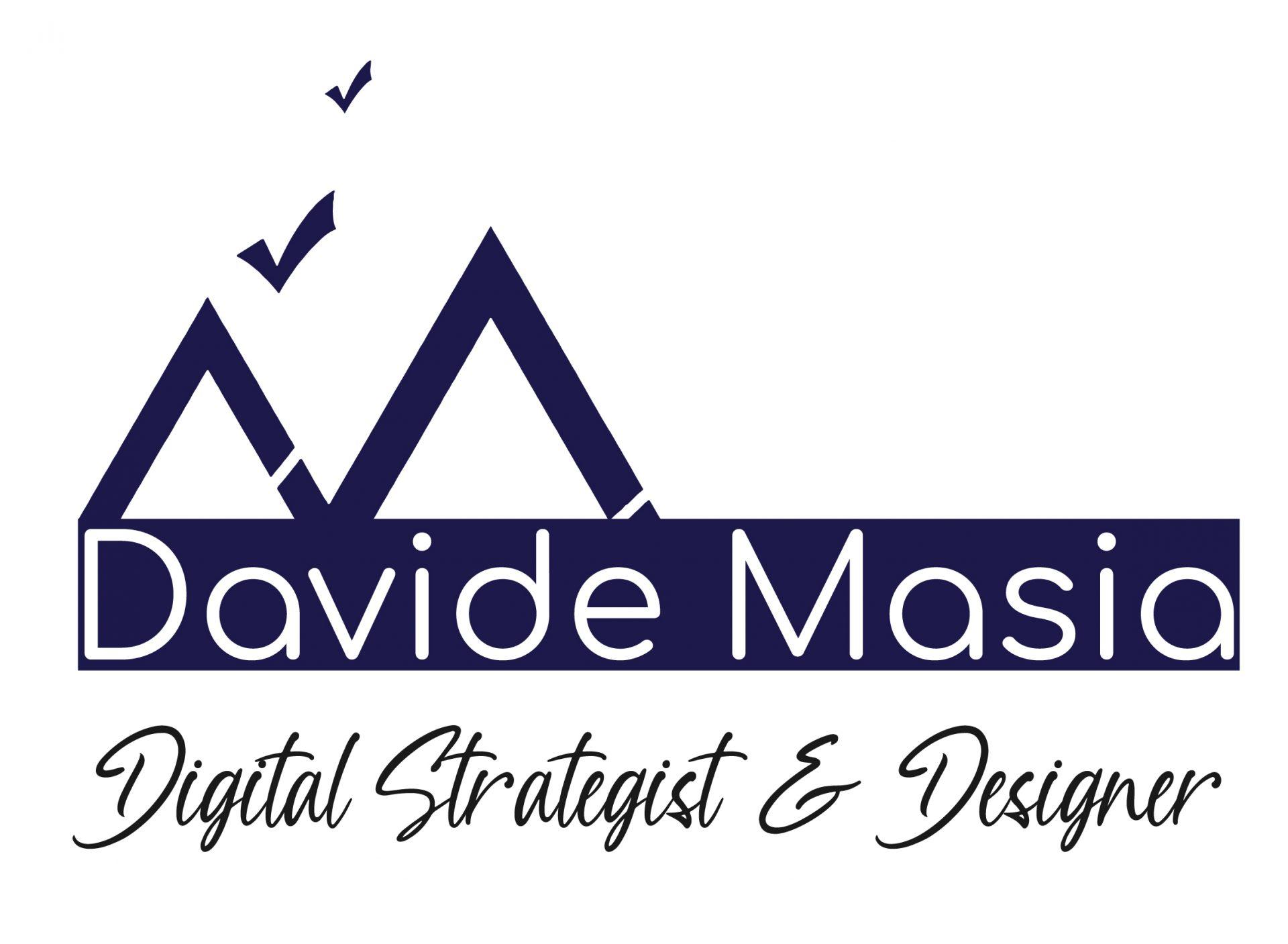 logo davide masia digital strategist e designer