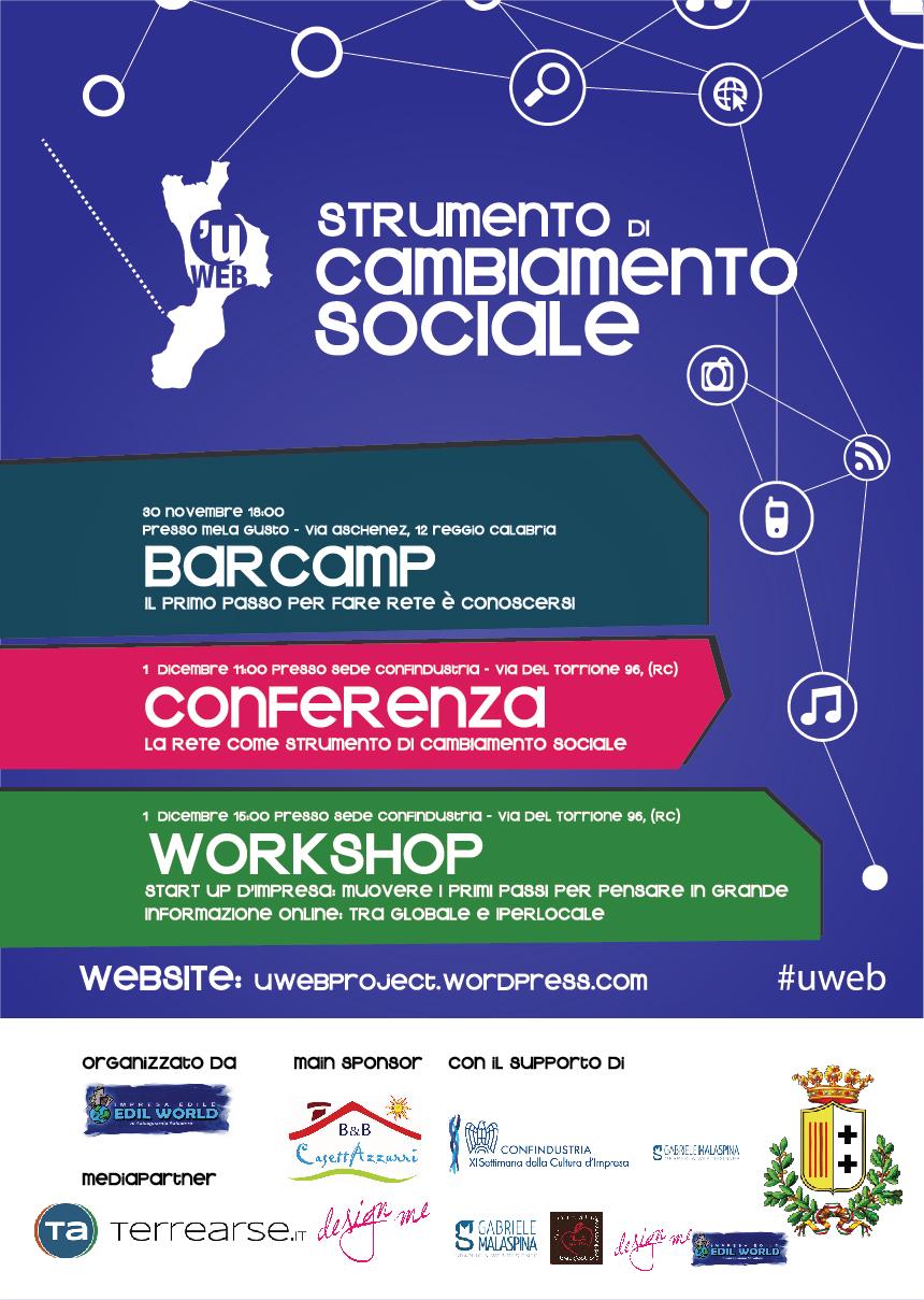 Locandina Evento U web
