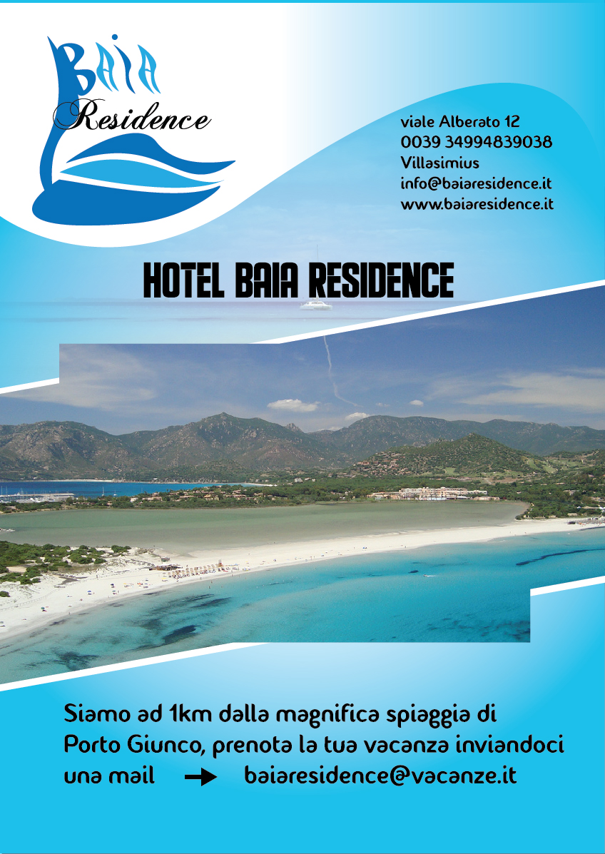 Baia Residence Locandina Davide Masia